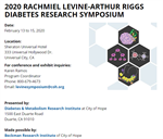 2020 RACHMIEL LEVINE-ARTHUR RIGGS DIABETES RESEARCH SYMPOSIUM