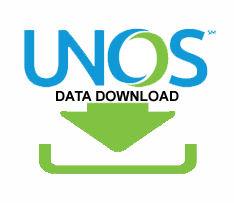 UNOS Data Download Screen Shot